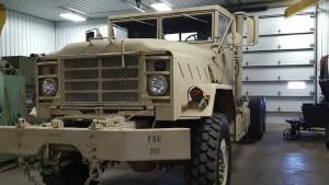 Army Truck Frame Rebuild