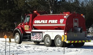 Colfax Fire Dept Tanker Truck