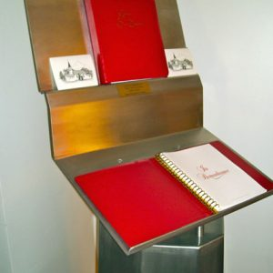 Church Guest Book Stand